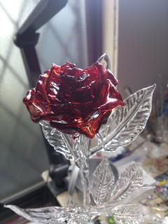 ガラス細工の薔薇