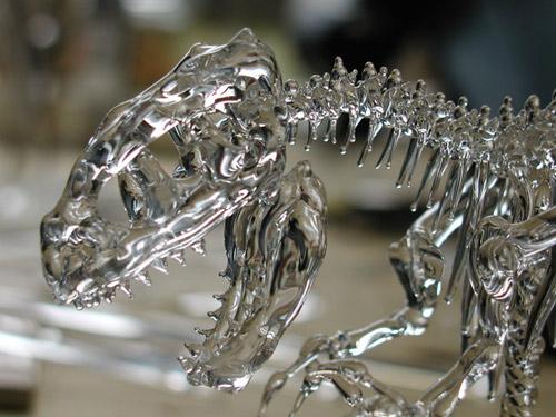 ガラス細工のアロサウルス