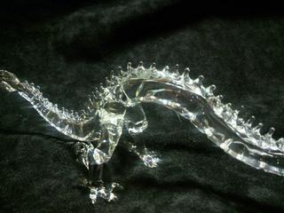 干支のガラス細工 龍