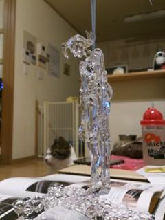 ガラスの球体関節人形