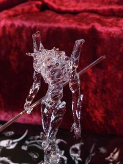ガラス細工でエヴァンゲリオンを作ってみた