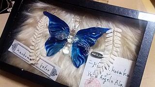 ガラス細工のグラスパピヨン