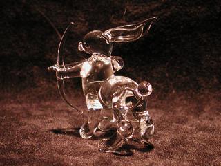 ガラス細工のケンタウロスうさぎ