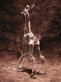 ガラス細工のキリンうさぎ