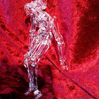 ガラス細工の球体関節人形