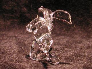 ガラス細工の求愛うさぎ