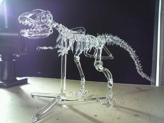 生徒さんの作品 恐竜骨格