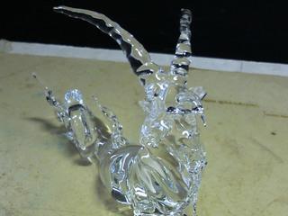 生徒さんが作ったガラス細工の山羊座